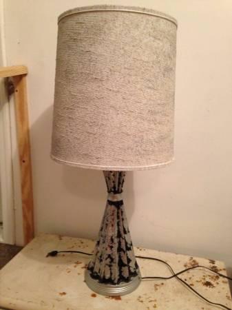 Mid Century Lamp     $35     View on Craigslist