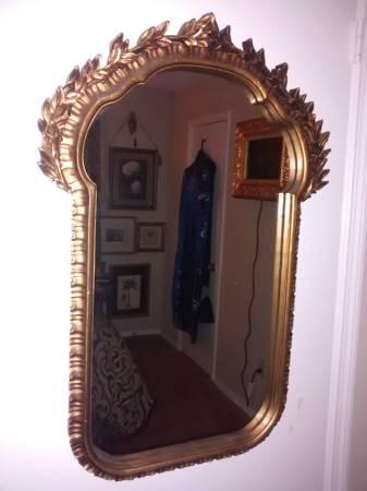 Gold Mirror     $25     View on Craigslist