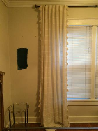 Pair of Anthropologie Curtain Panels     $50     View on Craigslist
