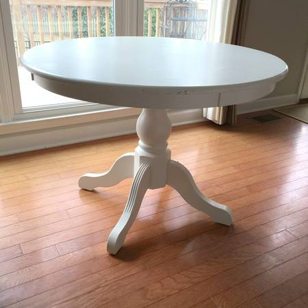 Ballard Designs Pedestal Table     $125     View on Craigslist