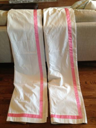 Pair of Pottery Barn Blackout Curtains     $50     View on Craigslist