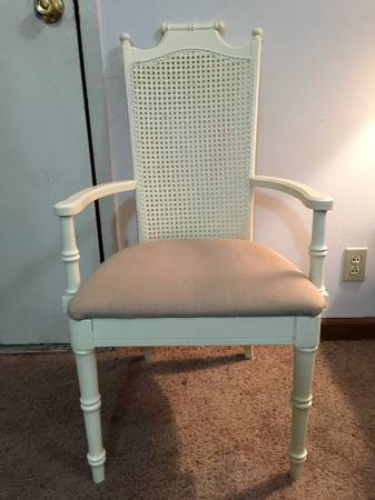 Cane Back Chair     $60     View on Craigslist