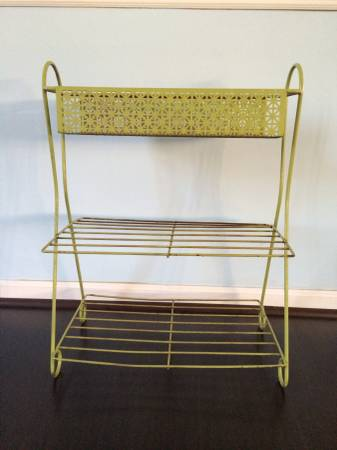 Vintage Metal Plant Stand     $20     View on Craigslist