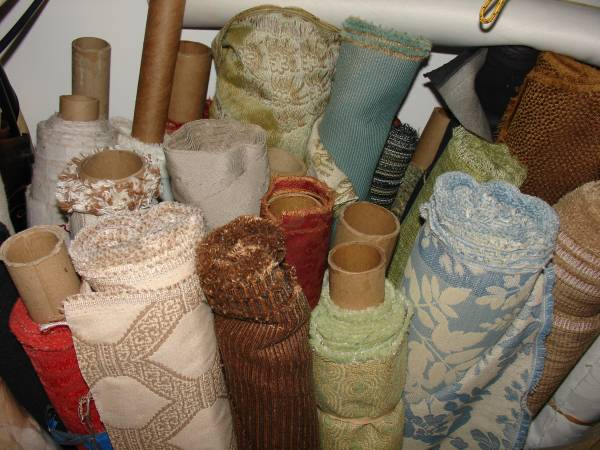 Upholstery Fabric     $tbd   Seller is getting rid of 50 rolls of upholstery fabric.    View on Craigslist