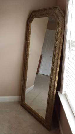Large Gold Mirror     $45     View on Craigslist