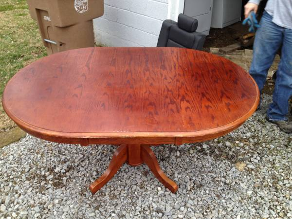 Dining Table & 4 Chairs     $100     View on Craigslist