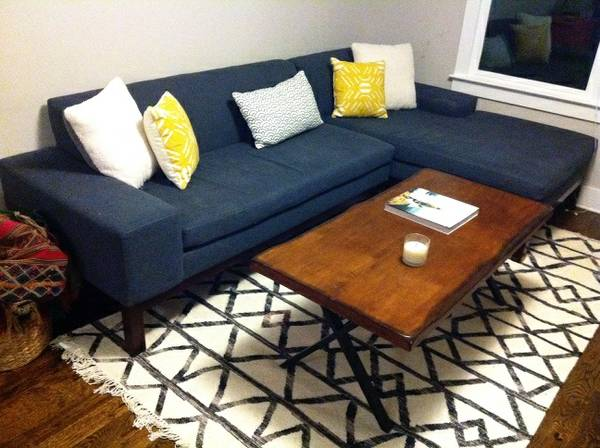 West Elm Sectional     $950     View on Craigslist