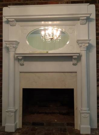 Antique Fireplace Mantle     $399     View on Craigslist