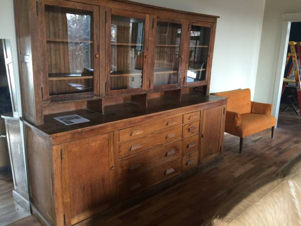 Antique Pharmacist's Cabinet     $2200     View on Craigslist