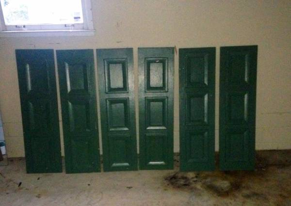 Set of 6 Wood Shutters     $50     View on Craigslist