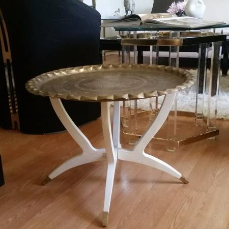 Brass Top Table     $65     View on Craigslist