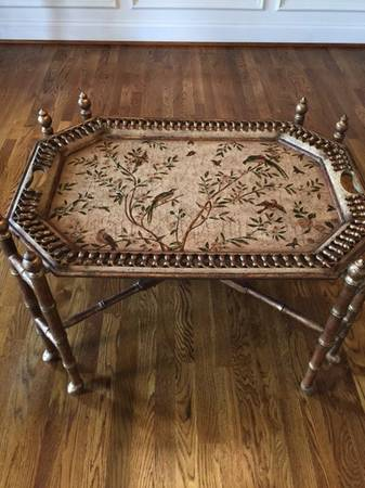 Horchow Tray Table     $185   This table retails for $579.    View on Craigslist
