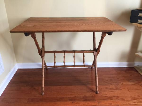 Antique Foldable Table     $50     View on Craigslist