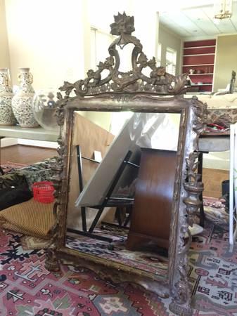 Ornate Mirror     $20     View on Craigslist