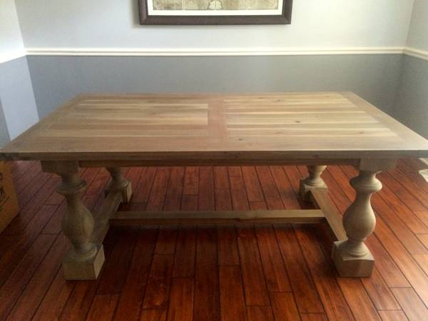 Restoration Hardware Table     $600   This table is currently on sale at  Restoration Hardware  for $1115.     View on Craigslist