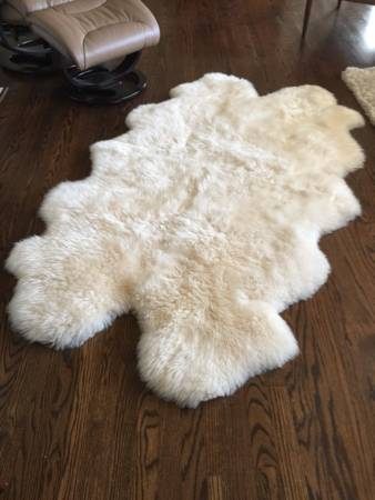 Sheepskin Rug     $50     View on Craigslist