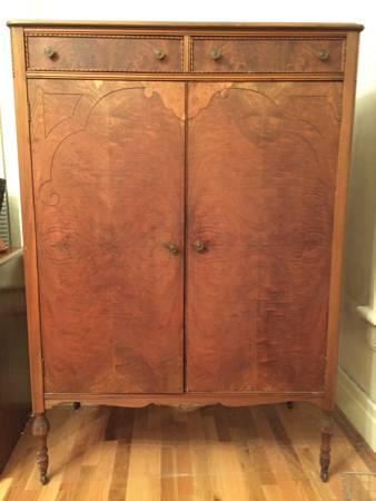 Antique Oak Wardrobe     $200     View on Craigslist