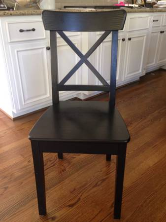 Set of 4 Ikea Chairs     $40     View on Craigslist