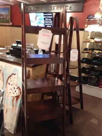 Wood Ladder Shelf     $40     View on Craigslist