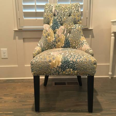 Pair of World Market Chairs     $160     View on Craigslist
