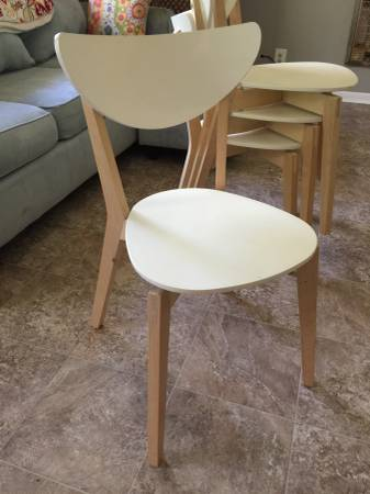 Set of Ikea Chairs     $100     View on Craigslist