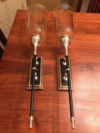 Pair of Sconces     $75     View on Craigslist