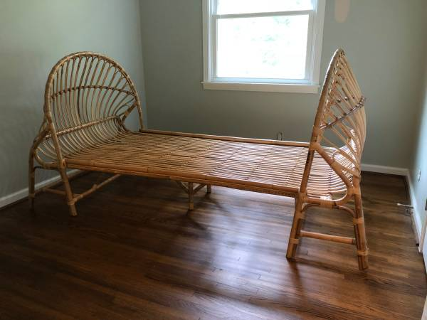 Rattan Twin Bed     $450     View on Craigslist