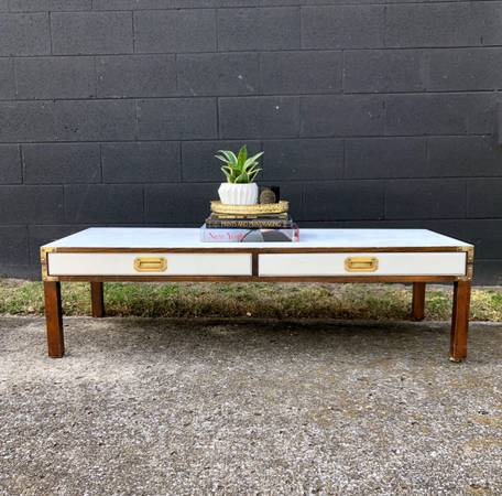 Campaign Coffee Table     $200     View on Craigslist