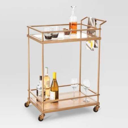 Gold Bar Cart   $90   View on Craigslist