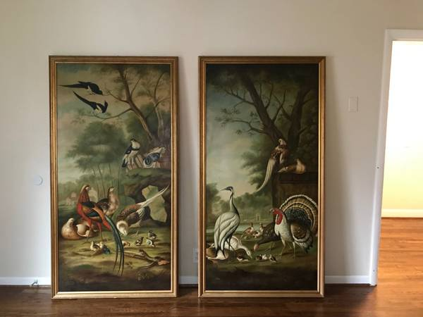 Large Bird Paintings     $600     View on Craigslist