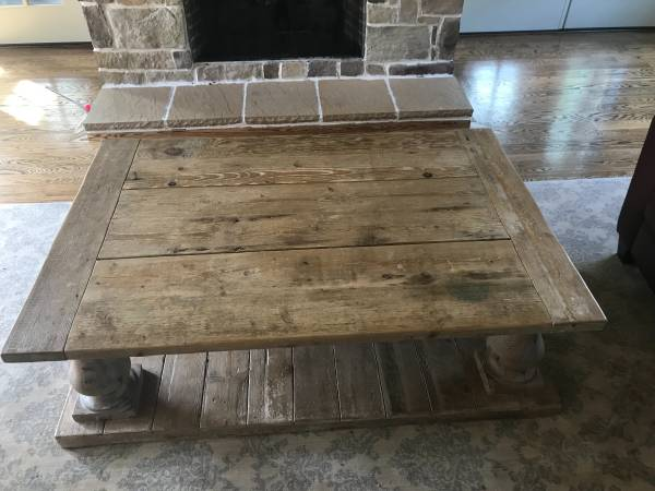 Restoration Hardware Coffee Table     $350     View on Craigslist