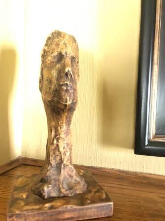 Eva Lee Burns Sculpture    $90    View on Craigslist