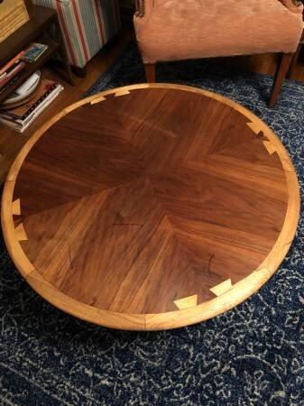 Vintage Lane Coffee Table    $135    View on Craigslist