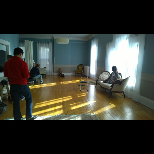Upstairs front studio; Studio 821