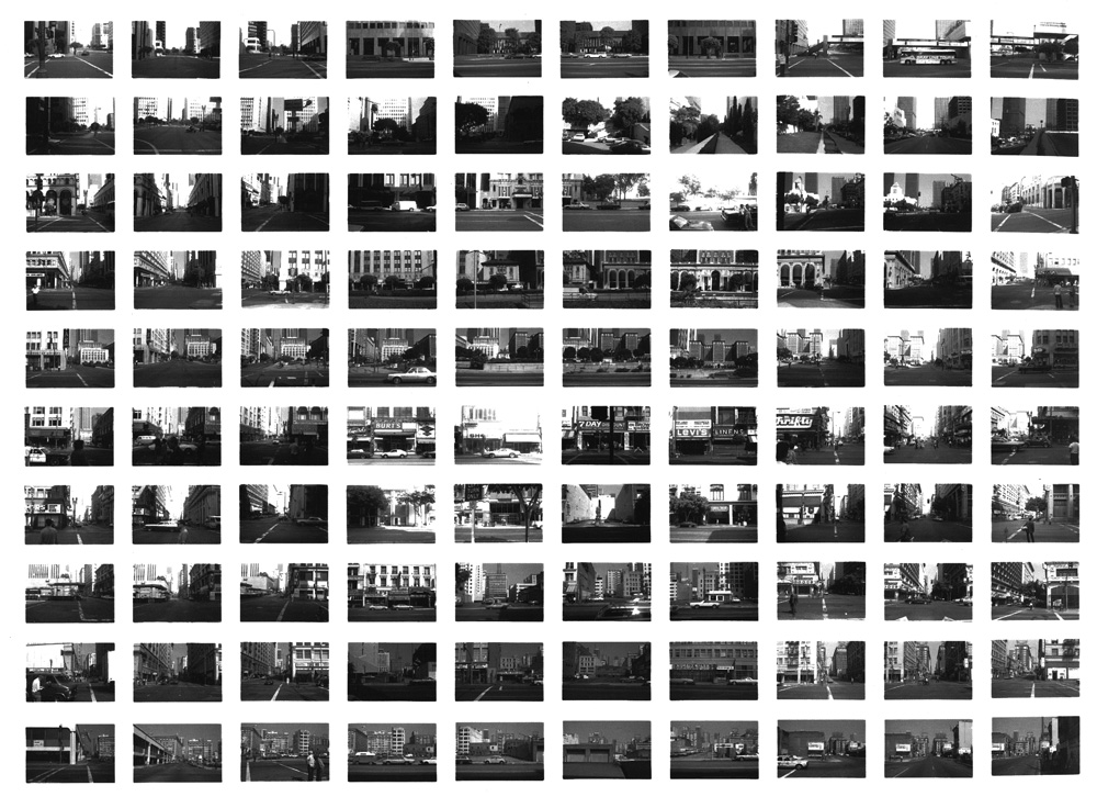 SV018/80 Downtown LA Between 5th and 6th , 1980 Vintage Gelatin Silver Print 20 x 24inches