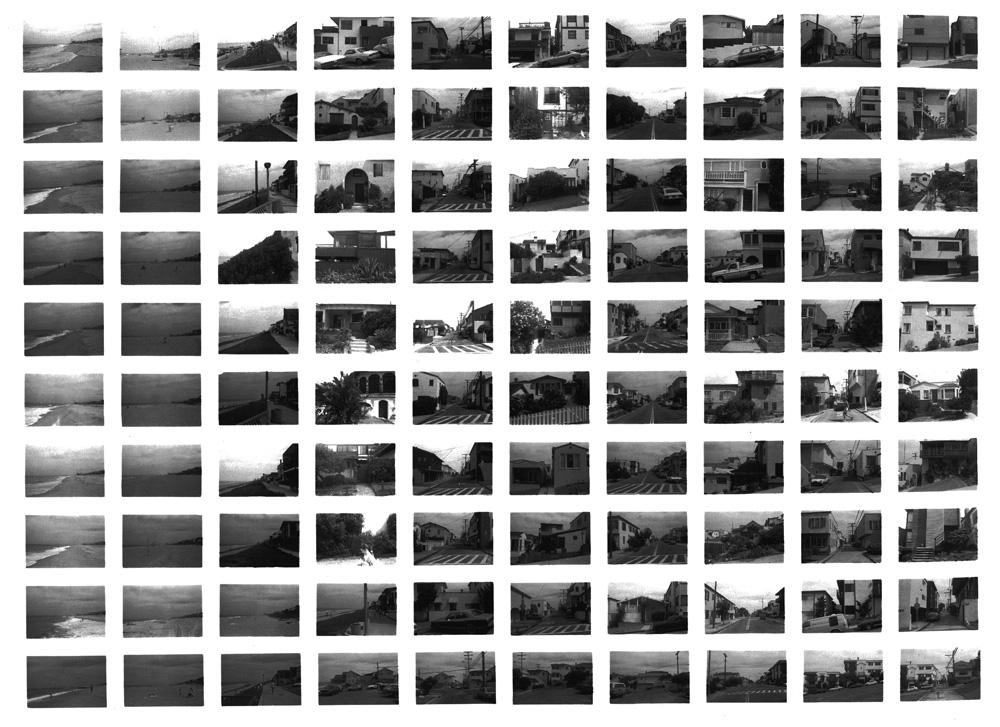 SV08/80, Manhattan Beach looking North , 1980 Vintage Gelatin Silver Print 20 x 24inches