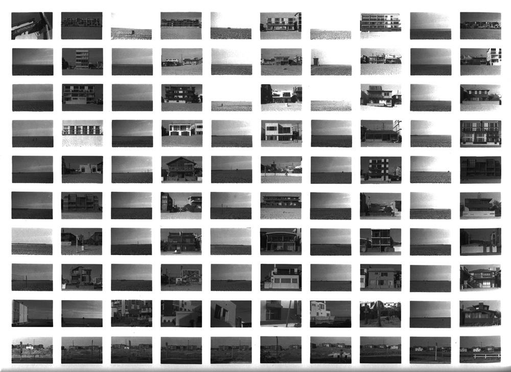 SV09/80 Venice Beach 180 degree View , 1980 Vintage Gelatin Silver Print 20 x 24inches