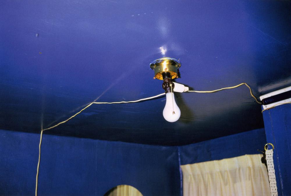 William Eggleston   Untitled (Blue ceiling),1970-1973