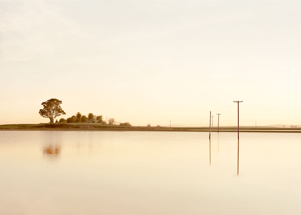 Elger Esser , Cutting Wharf I , from Six American Sunsets , 2008