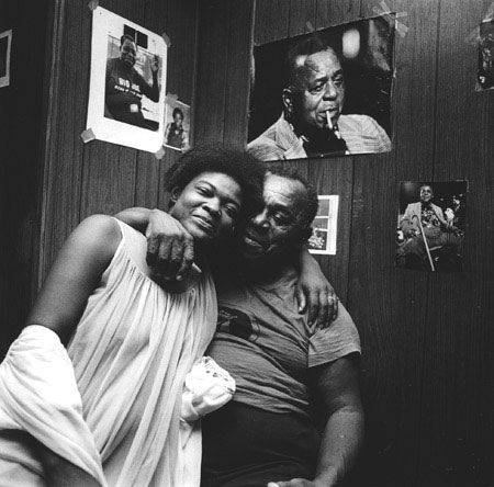 Happy Birthday Big Joe , Crawford, Mississippi, 1980 Silver Gelatin Print Image 9.75 x 9.75 inches/Sheet 11 x 14 inches