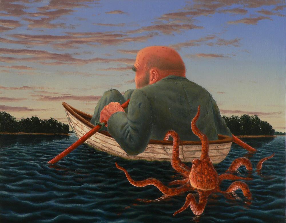 Escape , 2011 Oil on canvas 11 x 14 inches