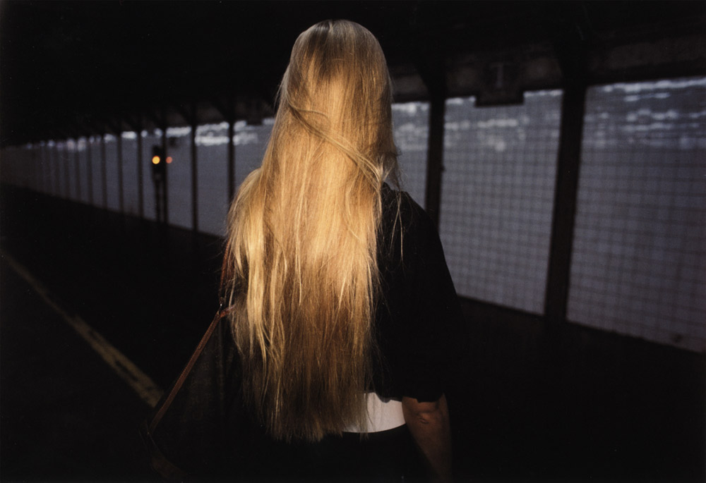 Untitled  (Blonde hair), from the series  Subway