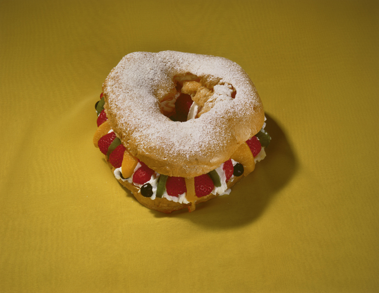 Untitled , (Stuffed Doughnut), 1994 Vintage Cibachrome print 11 x 14 inches