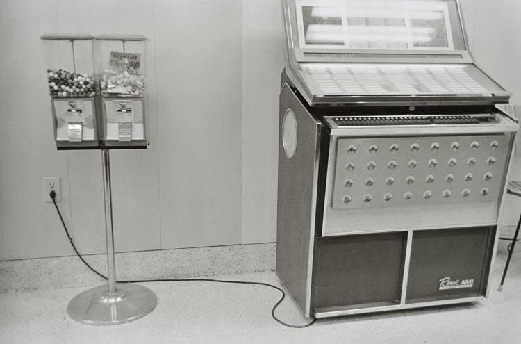 Untitled (Jukebox), 1960-1972 Gelatin Silver Print 16 x 20inches