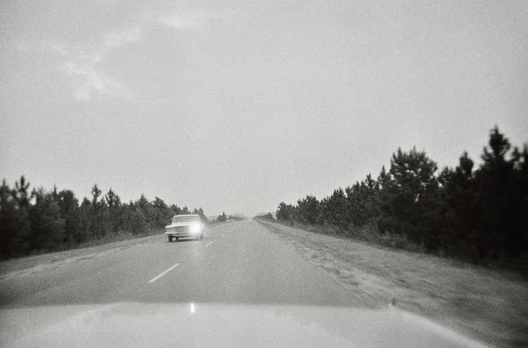 Untitled (Car with one headlight), 1960-1972 Gelatin Silver Print 16 x 20inches