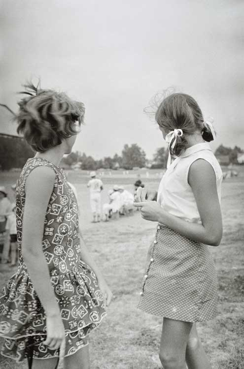 Untitled (Two girls), 1960-1972 Gelatin Silver Print 20 x 16 inches