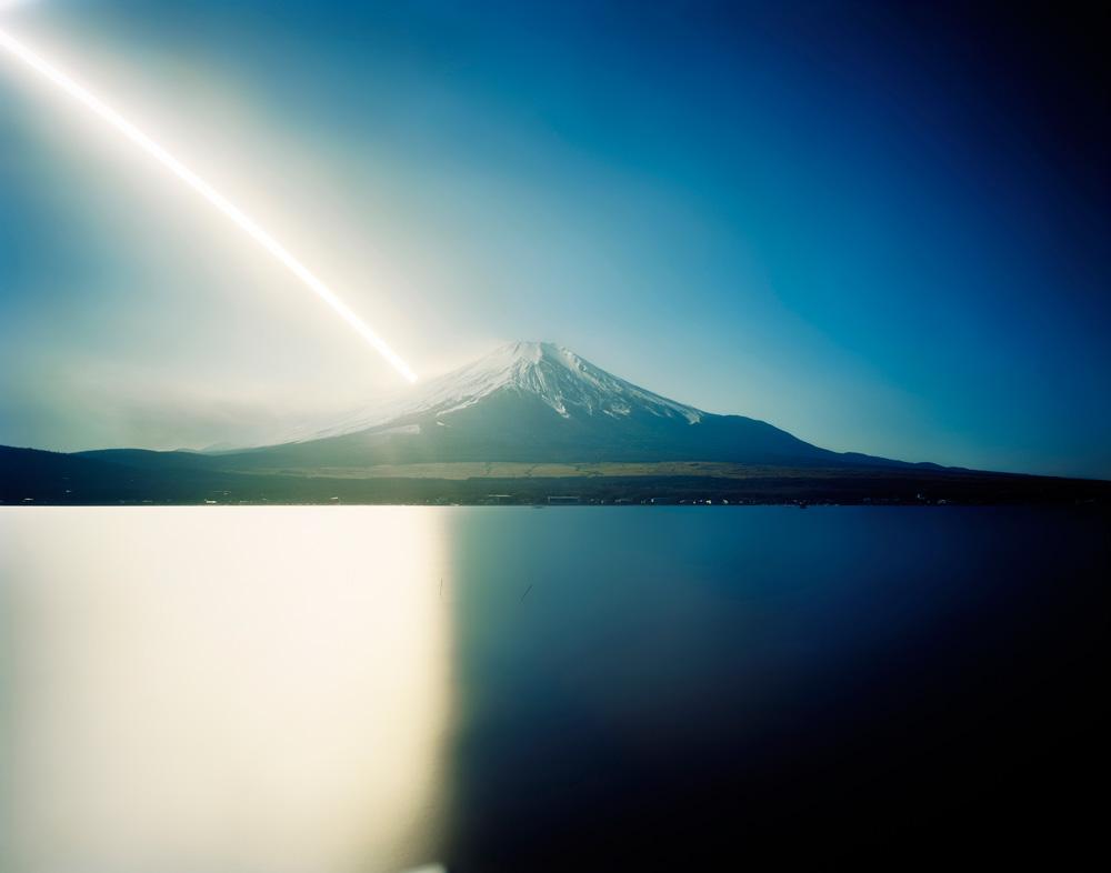 Ken Kitano ,  Sunrise to Sunset, Mt. Fuji, Yamanashi , from the series  One Day , 2007
