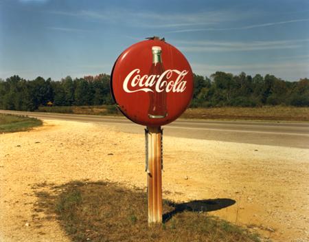 Coca Cola Sign Along Highway (US 78), Burnsville, Mississippi , 1978