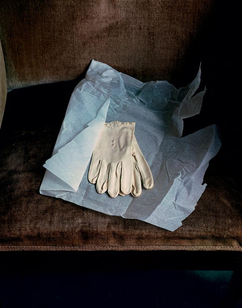 Marianne Moore's Gloves , 1983 Dye Transfer Print 20 x 16 inch