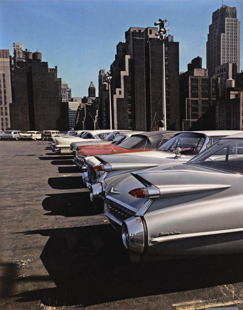 Car Park , New York, 1965 Dye Transfer Print 20 x 16 inch